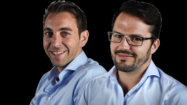Die Geschäftsführer DAnny Hammer und Siegfried Margrander